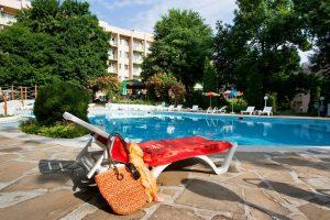 отель Люляк, бассейн